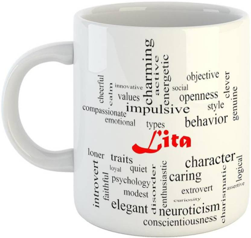 Emerald Good Personality for Lita Ceramic Mug