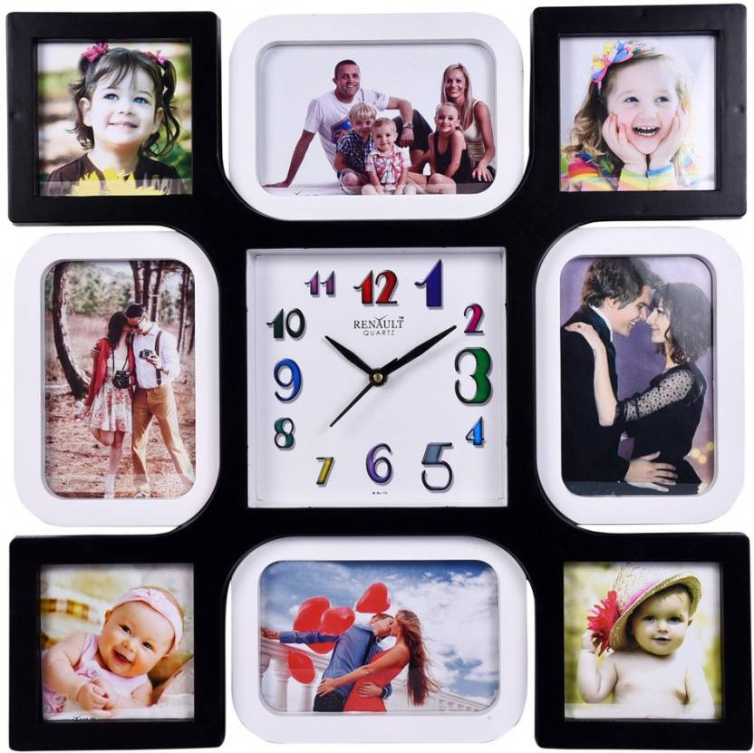 Top 100 Wall Clock With Photo Frame With Price