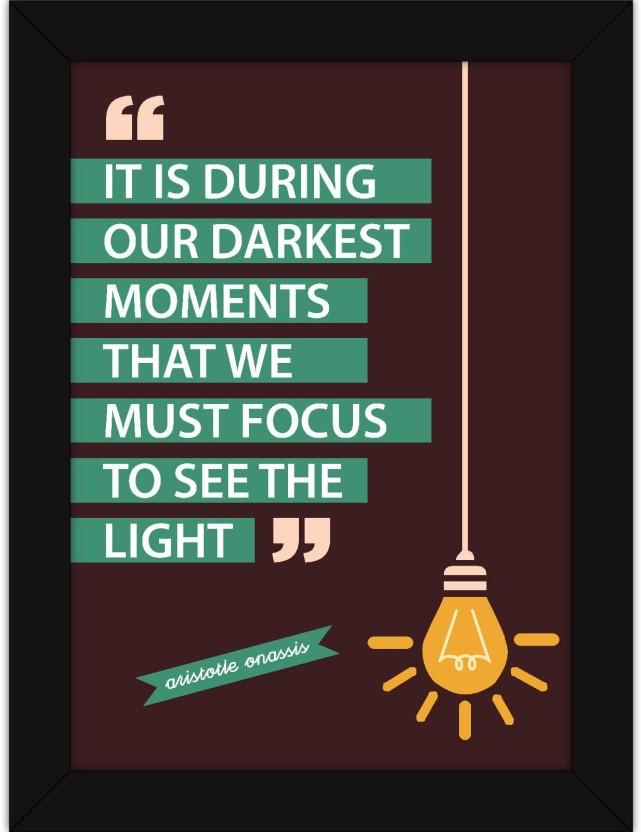 Poster Motivational Self Positive Office Inspirational Art Wall Print 122