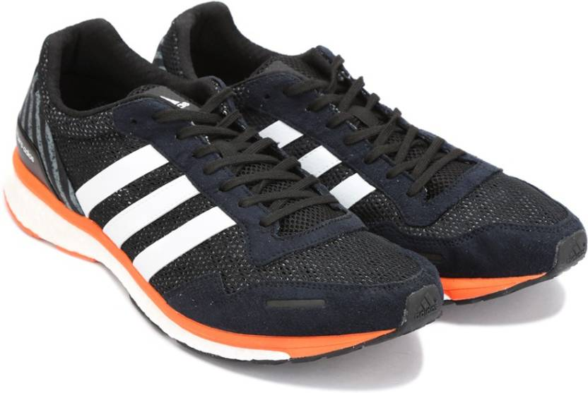 quality design 8dcea 2531d ADIDAS ADIZERO ADIOS M Running Shoes For Men (Black)