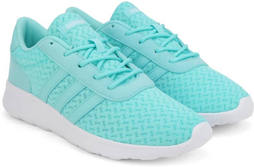 low priced 233c3 c3d15 ADIDAS NEO LITE RACER W Sneakers For Women (Blue, White)