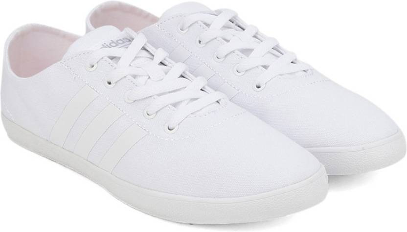 pretty nice 75073 43915 ADIDAS NEO CLOUDFOAM QT VULC W Sneakers For Women (White)