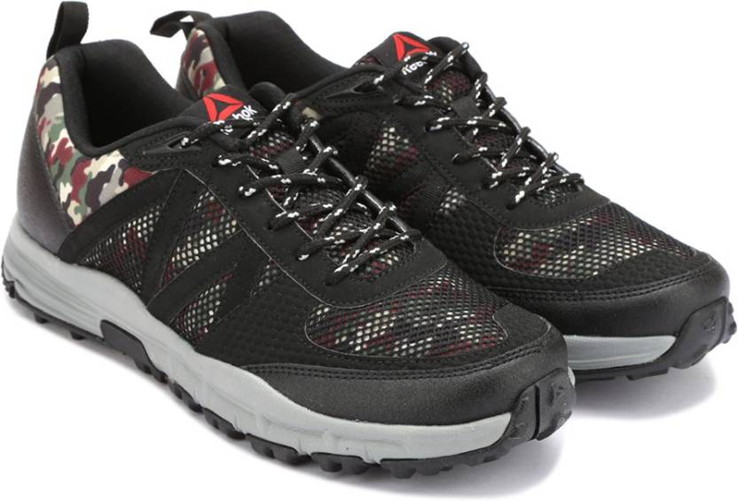 REEBOK CAMO TREK Men Hiking   Trekking Shoes For Men - Buy BLACK ... a3413e330