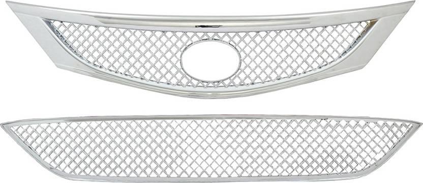 Poshauto Bentley Design ABS Plastic Chrome Series Car Grill