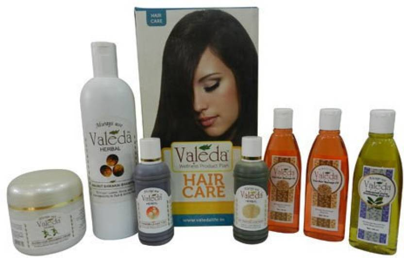 Valeda Herbal Lusterless Hair Treatment Kit - From The 'House of Doctors - Since 1988'