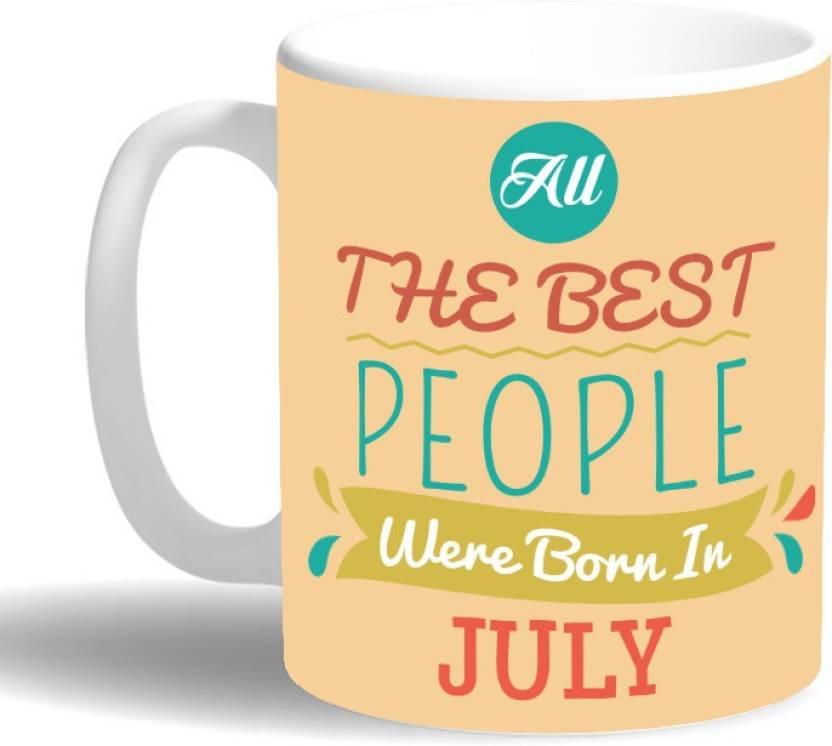 PRINT OPERA Best People Born in July Ceramic Mug Price in