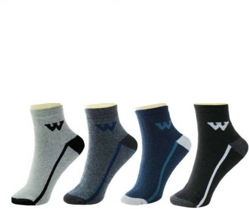 RR Accessories Mens Ankle Length Socks  (Pack of 4)