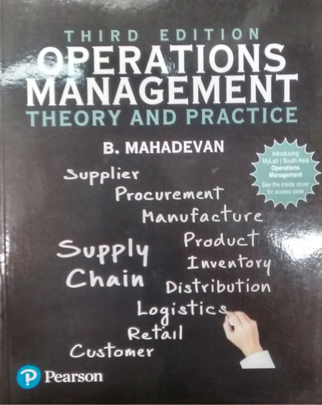 Operation Management Book Pearson