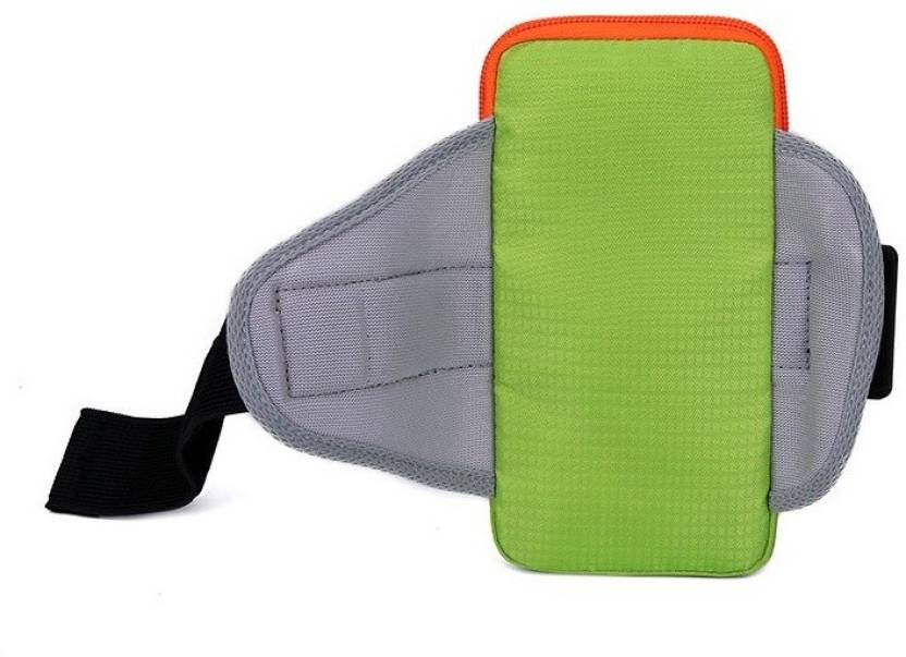 Wonder World Pouch for ® Fashion Sports Mobile Phone Arm Bag Running Equipment Arm Wrist Outdoor Bags (Green, Cloth, Plastic, Rubber, Metal)