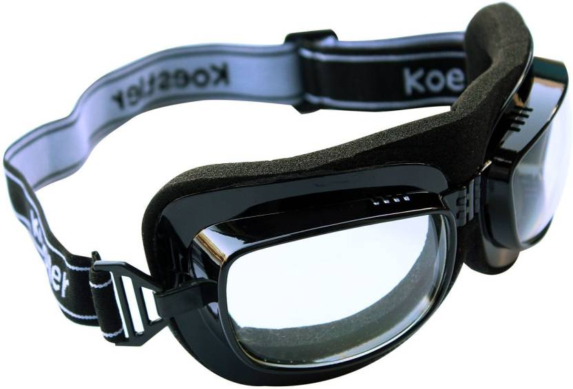 b0357a4b0d5 RuggedTrails Clear Glass Motorcycle Goggles - Buy RuggedTrails Clear ...