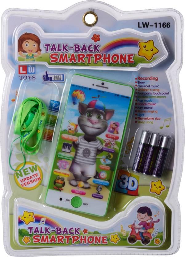 Joymart Talking Tomcat Phone Multiple Functions Musical Tom Cat Toy