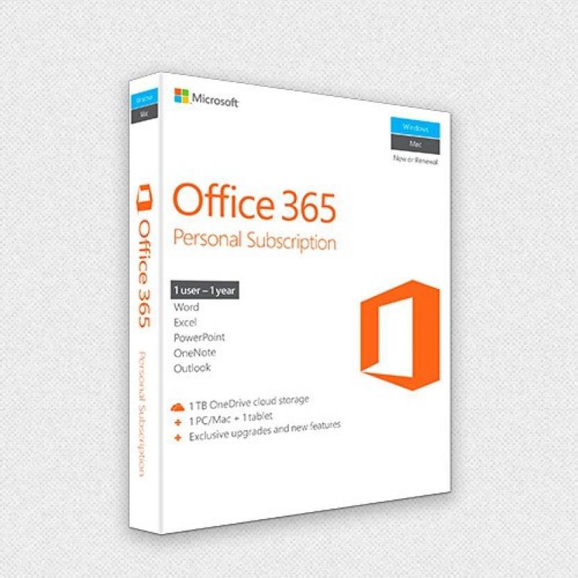 Microsoft Office 365 Personal - Microsoft : Flipkart.com