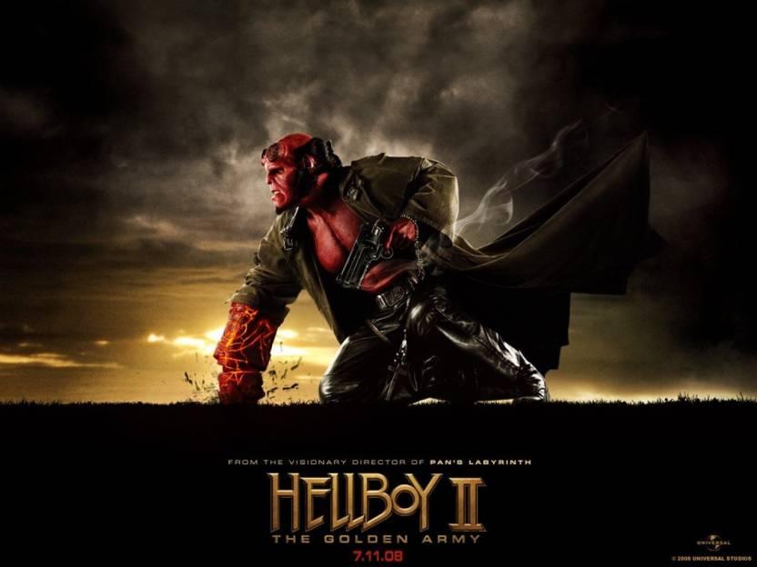 1c726f8b5b AnanyaDesigns Wall Poster Movie Hellboy II: The Golden Army Hellboy ...