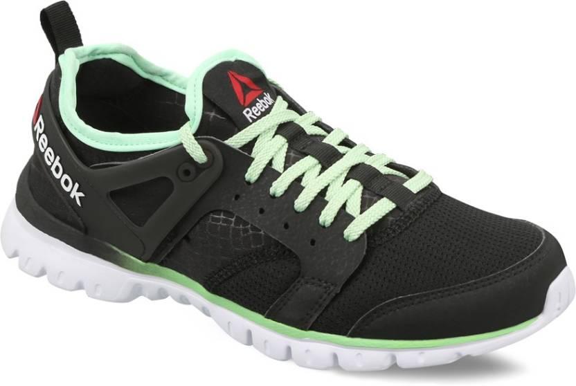 63812d1f852aca REEBOK AMAZE RUN Running Shoes For Women - Buy BLK SEAFOAM GREEN WHT ...
