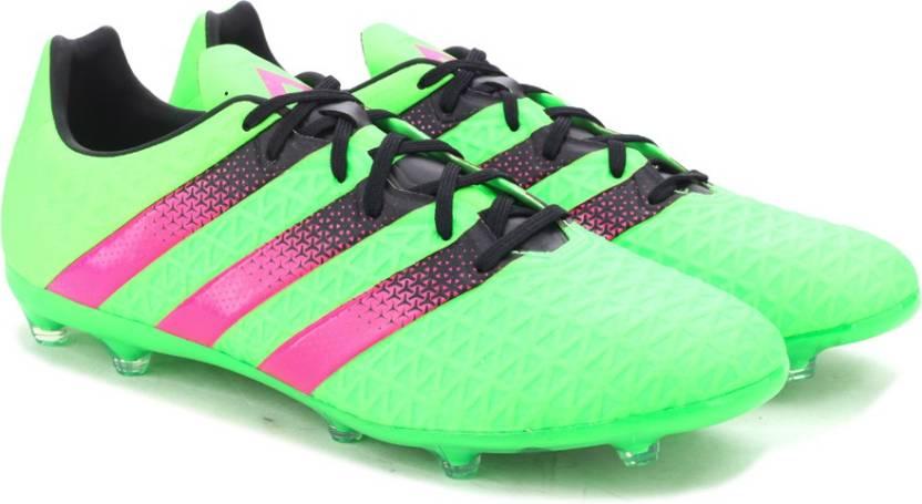 22e70bdce ADIDAS ACE 16.2 FG AG Men Football Shoes For Men - Buy SGREEN SHOPIN ...