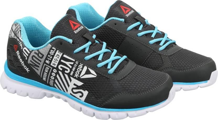 1df16588f55 REEBOK RUN VOYAGER Running Shoes For Women - Buy GRAVEL CRISP BLUE ...