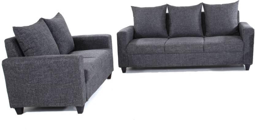 1e84386f97 Comfy Sofa Classy Fabric 3 + 2 Brown Sofa Set Price in India - Buy Comfy  Sofa Classy Fabric 3 + 2 Brown Sofa Set online at Flipkart.com