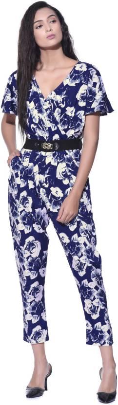 e3ac317b2e43 Aayu Floral Print Women s Jumpsuit - Buy Aayu Floral Print Women s ...
