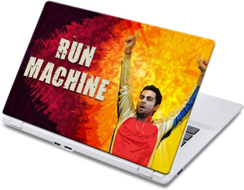 ezyPRNT Joyful Run Machine (14 to 14.9 inch) Vinyl Laptop Decal 14