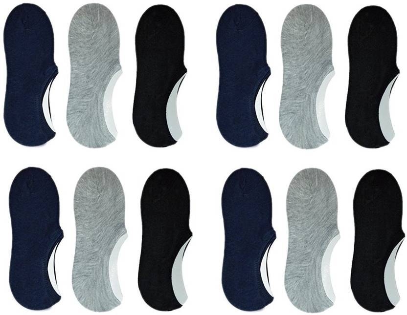 ZACHARIAS Men & Women Solid No Show Socks - Buy ZACHARIAS Men ...
