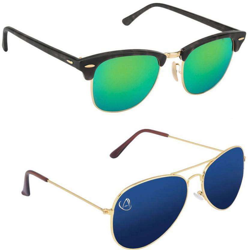 a29a6844b5 Buy Aventus Clubmaster Sunglasses Green
