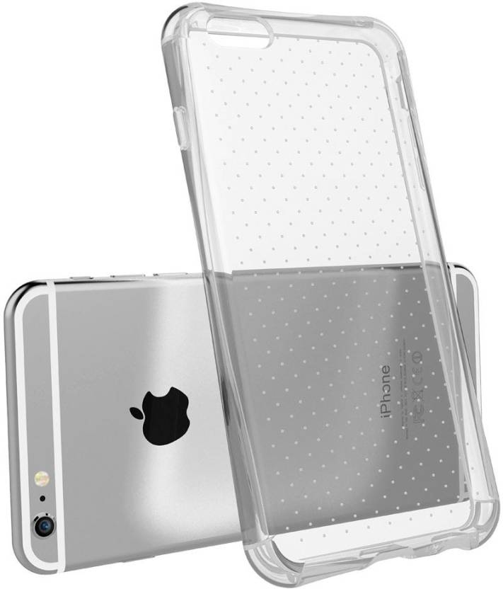 Sureness Back Cover for Apple iPhone 7 Transparent, Silicon
