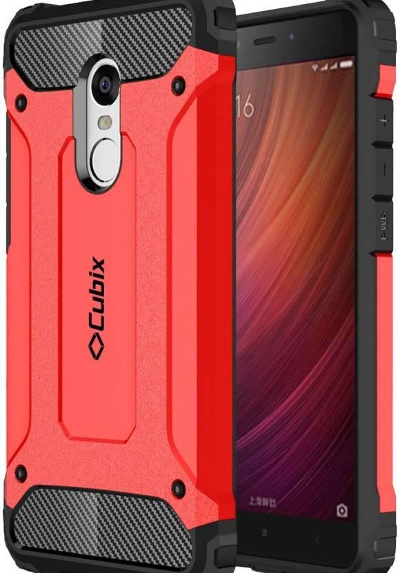 sale retailer ec6c8 7116c Cubix Back Cover for Mi Redmi Note 4