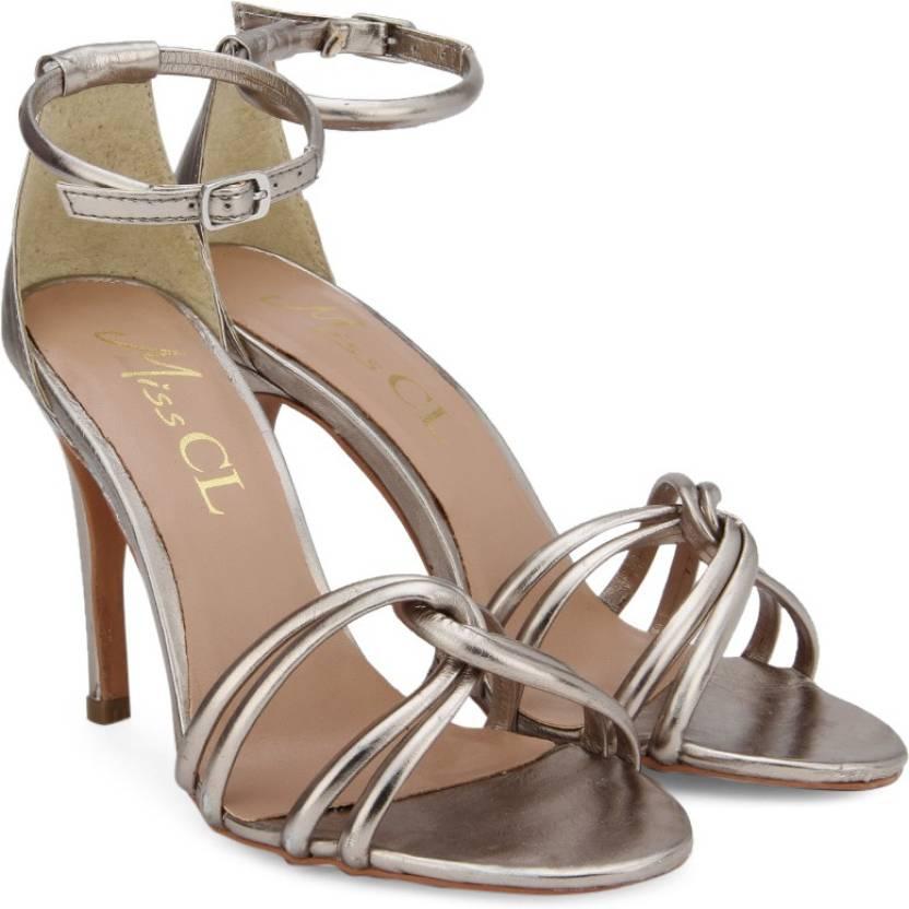 4556250c597 Miss CL By Carlton London Women PEWTER Heels