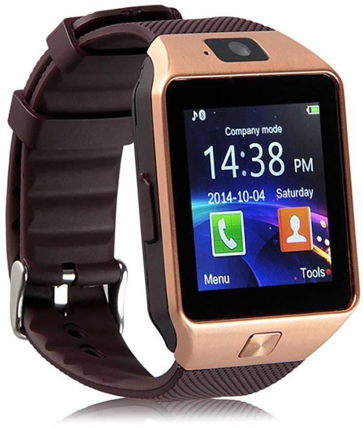 Mobspy DZ09-01 With SIM and 32 GB Memory Card Slot Smartwatch