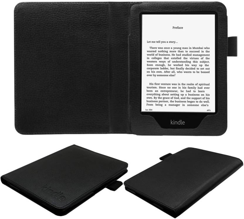 ACM Book Cover for Kindle Paperwhite New 6 Black