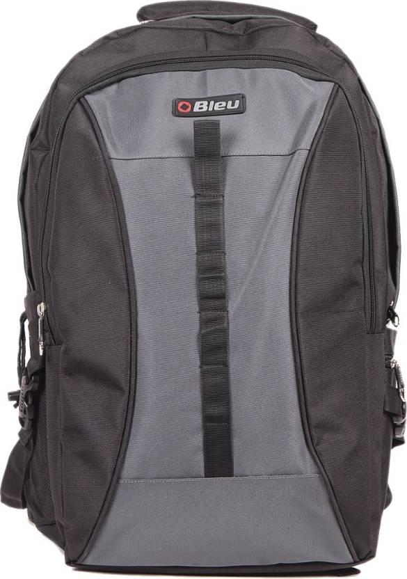 b954690925a1 Bleu Bleu Jumbo Bag - Black -205 25 L Backpack Black   Grey - Price ...