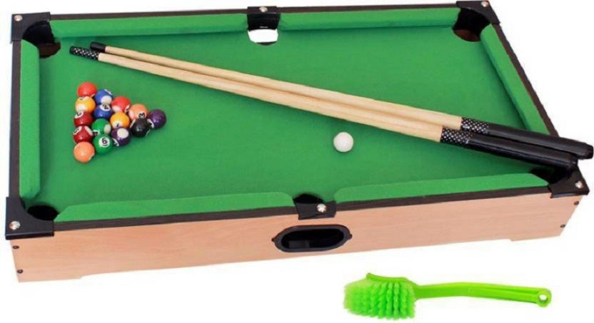 Wishkart Billiards U0026 Pool Table Set (Junior) For Kids Board Game