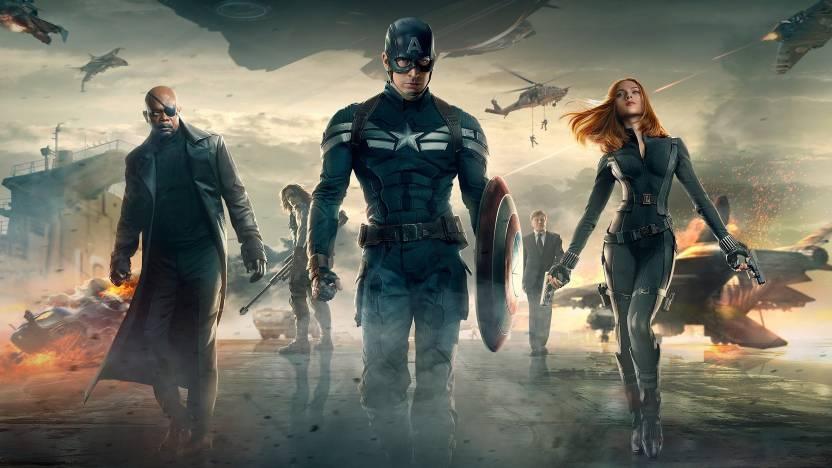 Movie Captain America: The Winter Soldier Captain America