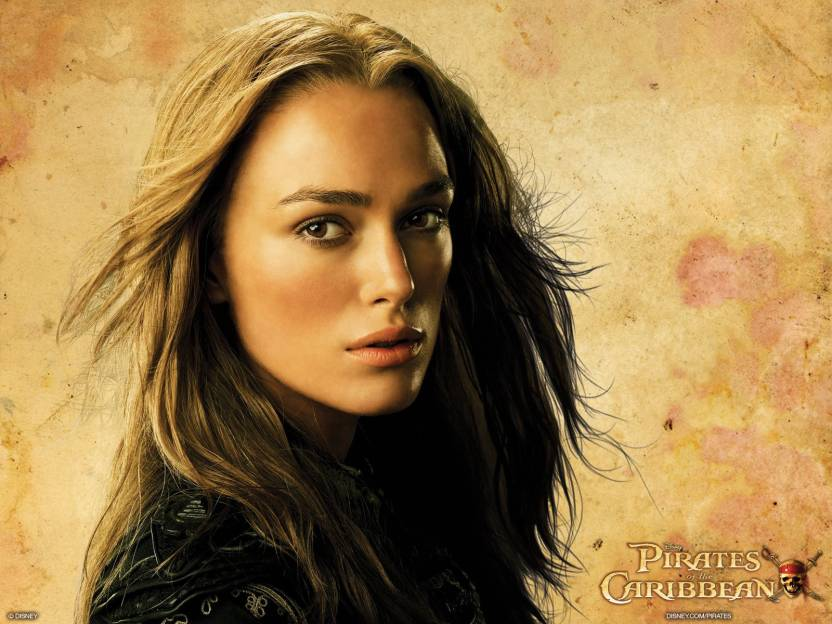 Movie Pirates Of The Caribbean Beautiful Elizabeth Swann