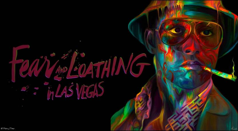 1542c5cc0451 Akhuratha Poster Movie Fear And Loathing In Las Vegas Loathing Trippy Drugs  HD Wallpaper Background Fine Art Print (12 inch X 18 inch, Rolled)