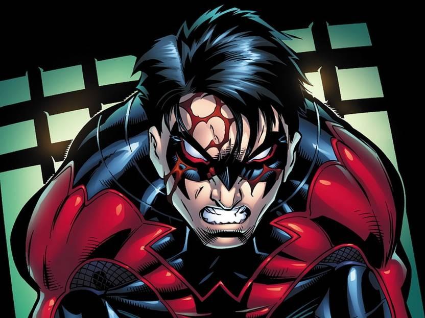 Comics Nightwing Hd Wallpaper Background Fine Art Print