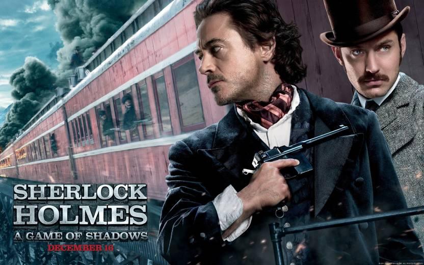 Movie Sherlock Holmes A Game Of Shadows Sherlock Holmes Robert