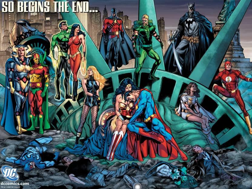 Comics Justice League Green Arrow Batman Black Canary Wonder