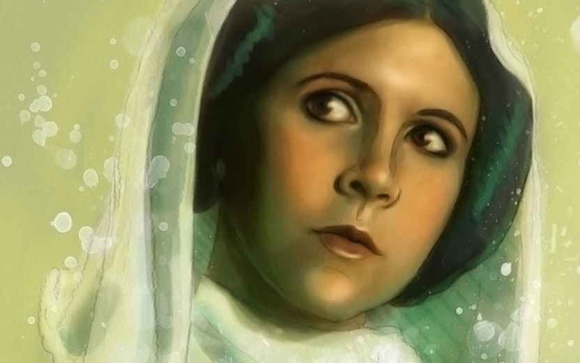 """12/""""x18/"""" Star wars leia poster HD Canvas prints Home Decor Wall art pictures"""