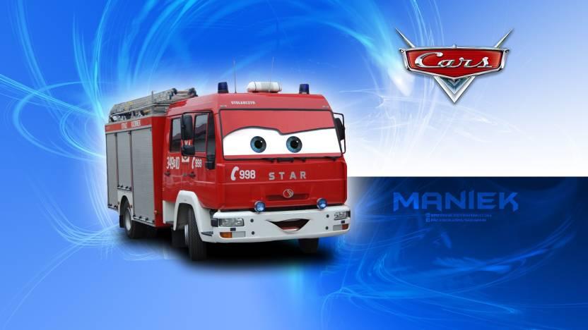 Movie Cars Auta Car Disney Pixar Fire Department Osp Pozarna Hd