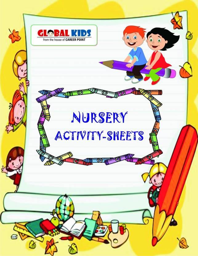 Global Kid\'s: Activity Books For UKG (KG 2) & Montessori Age 5-6 Yrs ...