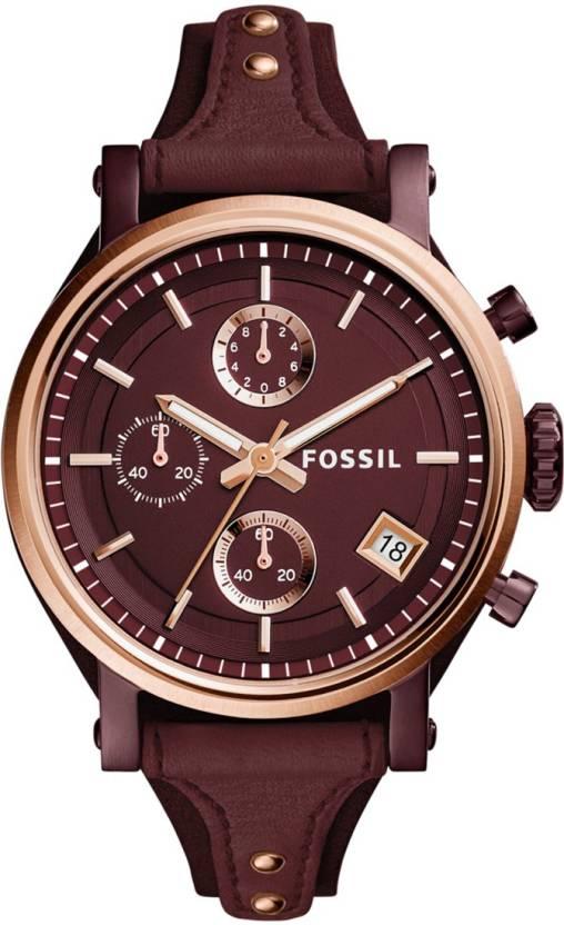 e9fb9fdb3f5 Fossil ES4114 ORIGINAL BOYFRIEND Watch - For Women - Buy Fossil ES4114 ORIGINAL  BOYFRIEND Watch - For Women ES4114 Online at Best Prices in India ...