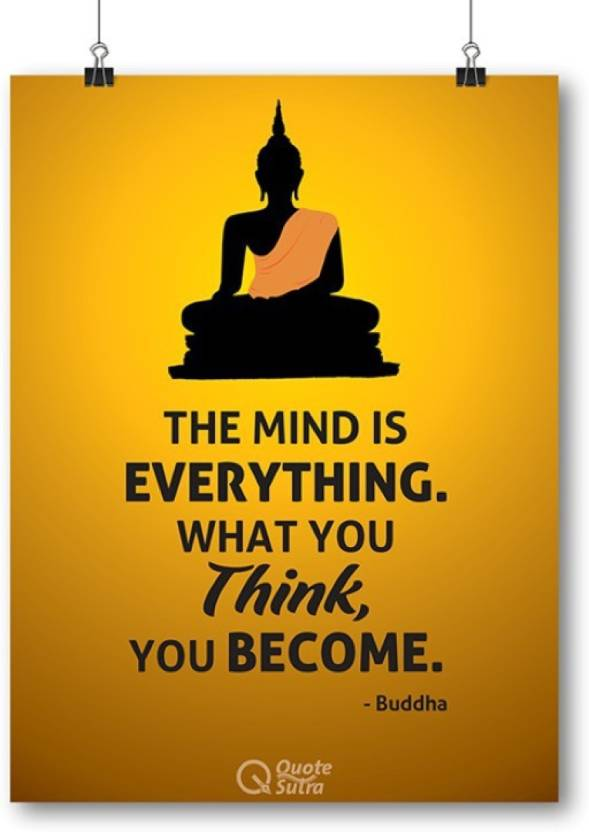 athahdesigns wall poster the mind is everything buddha a sized by