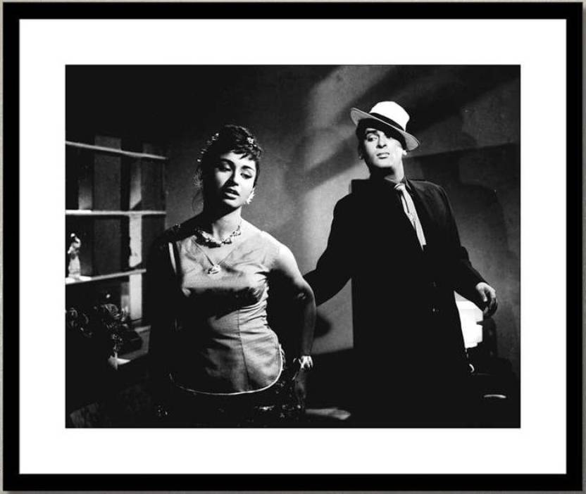 AnanyaDesigns Wall Poster shammi-kapoor-and-helen-in-china-town-ppmxvm Paper Print