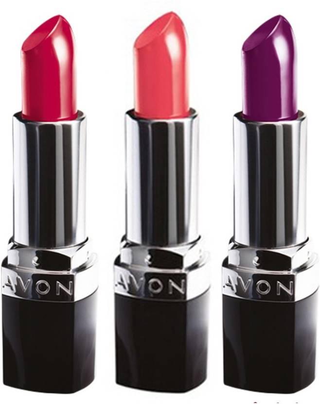 Avon Anew True Color Lipstick Spf 15 Set Of 3 Price In India