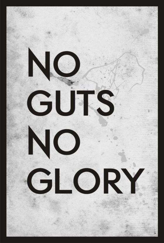 No Guts No Glory Book