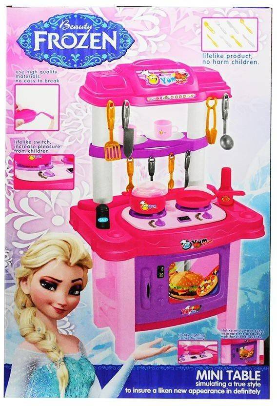 Amayra Toy Frozen Battery Operated Big Size Complete Kitchen
