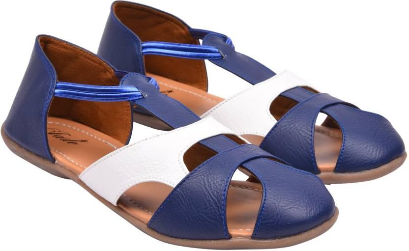 5e3b03a17a003 Jade Women Blue Flats - Buy Jade Women Blue Flats Online at Best ...