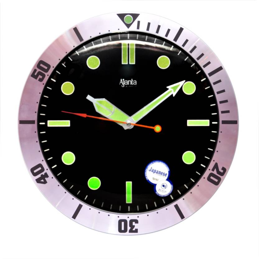 5a5fdb6866b ajanta orpat Analog 24 cm X 24 cm Wall Clock Price in India - Buy ...