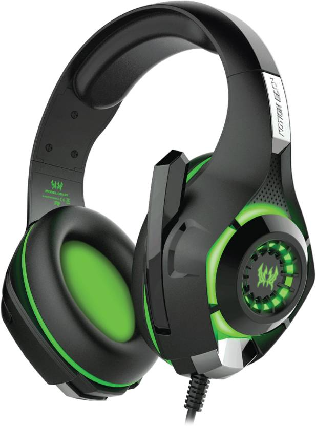 Kotion Each GS420 7 Color LED with Mic and Audio Splitter Headset with Mic